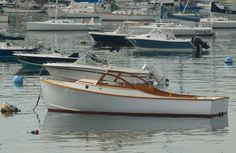 Beautiful boats abound in the harbor