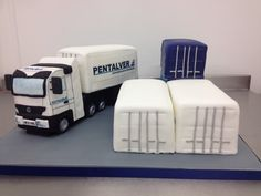 We were asked by Pentalver to make a 20th anniversary cake