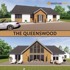 The Queenswood is one of our oldest designs at 163sq.m and it has 3 bedrooms!  Check out the floorplan there is SOO much to see including a pantry! 🙏 Want to flip it, move some rooms around, add garage to the side or make it all bigger? Not a problem, we can customise any design to meet your needs. Just call 01432 806409 or email designs@houseplansdirect.co.uk.