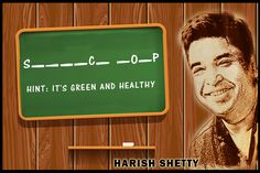 It' green, it's healthy and it's delicious. Can you guess what it is? #MondayQuiz #HarishShetty #Healthy