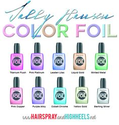 Check This Out!  Sally Hansen Color Foil Swatches