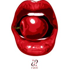 Cherry Lips is a Men's T Shirt designed by Exemi to illustrate your life and is available at Design By Humans