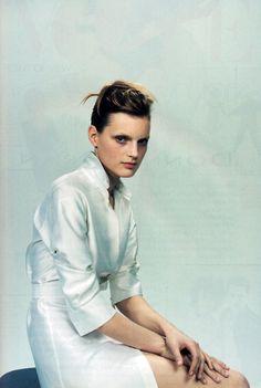 Jil Sander, American Vogue, February 1996.