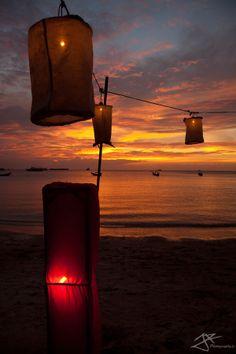 Phi Phi Island Sunset - Thailand