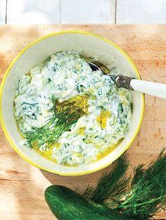 Δροσερό και λεμονάτο τζατζίκι | Συνταγές, Ντιπ | athenarecipes