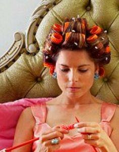 Sleep In Hair Rollers, Wet Set, Full Makeup, Hair Curler, Perm Rods, Roller Set, Curlers, Everyday Makeup, Girls Life