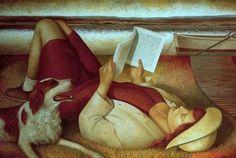 """Fabio Hurtado (Spanish, b. 1960) - """"Isabel"""", 1997"""