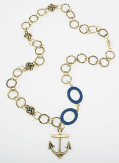 Nautical Knot Earrings and Necklace