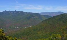Loon Mountain Autumn Views - http://sectionhiker.com/loon-mountain-autumn-views/