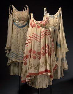 BAKST , Léon LES BALLETS RUSSES DE SERGE DIAGHILEV |Costume for a nymph
