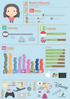 CV Infographic If you like this cv template. Check others on my CV template board :) Thanks for sharing! Graphic Resume, Graphic Design Resume, Cv Design, Cv Inspiration, Banner Design Inspiration, Cv Original Design, Astrology Calendar, Design Digital, Promotional Design