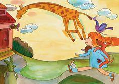 איילת מטיילת  #סטימצקי# Nostalgia, Kids, Painting, Fictional Characters, Art, Young Children, Art Background, Boys, Painting Art