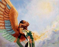 Black Angels Art Prints & Posters - Religious & Spiritual Art