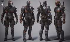 """Deathstroke"" by Alessandro Baldasseroni 
