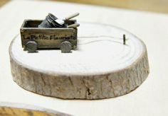 Producción miniatura la fleuriste petite