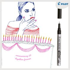 Permanentní lakové popisovače #Pilot #Super #Color vám vydrží opravdu dlouuuuuuuho! #forevertogether #happywriting