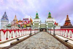 Izmailovsky Kremlin, Moscow, Russia
