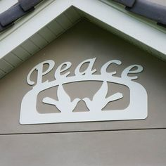 Outdoor Christmas Peace Sign - $60.00
