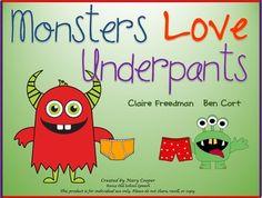 Monsters Love Underpants Speech/Language Companion