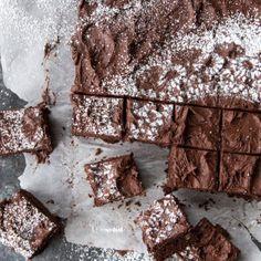 Dutch Chocolate Walnut Frosted Brownies