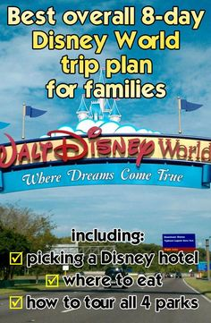 My best overall 8-day general Disney World trip plan for families @Emily Schoenfeld Schoenfeld Schoenfeld Schoenfeld Schoenfeld Cerrone