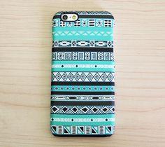Turquoise Green Aztec Ethnic iPhone 6 Plus 6 5S 5C 5 4 Protective Case – Acyc