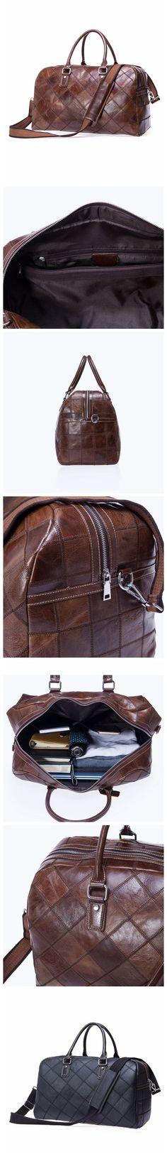 NEW ARRIVAL Top Grain Handbag, Large Capacity Duffel Bag, Leather Travel Bag, Luggage Bag 12023