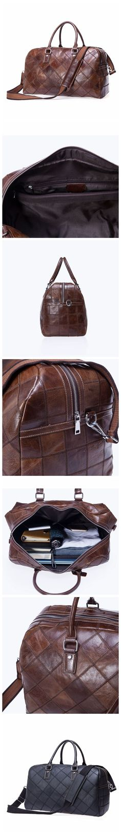 NEW ARRIVAL Top Grain Handbag, Large Capacity Duffel Bag, Leather Travel Bag, Luggage Bag 12023