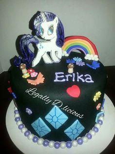 My Little Pony Rarity cake