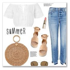 """""""Untitled #1562"""" by christinacastro830 ❤ liked on Polyvore featuring Topshop, Aranáz, Chloé and Ray-Ban"""