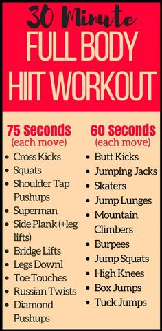 This 30 minute full body at home HIIT workout combines the ultimate cardio moves for an intense workout. With no equipment needed you can burn calories right at home in your living room. This fat burning workout is the perfect full body routine for summe Full Body Hiit Workout, 30 Minute Workout, Fat Burning Workout, Tummy Workout, Fat Workout, Workout Circuit, Dumbbell Workout, Kettlebell, High Intensity Workout