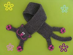 Spring Grey Cat Scarf - Grey Cat - Ideas of Grey Cat - Spring Grey Cat Scarf The post Spring Grey Cat Scarf appeared first on Cat Gig. Chat Crochet, Love Crochet, Crochet Gifts, Baby Knitting Patterns, Crochet Patterns, Knitting Projects, Crochet Projects, Crochet Patron, Cat Scarf