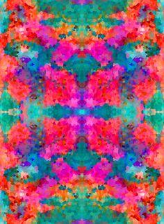 Kaleidoscope Art Print by Amy Sia - free shipping till Sunday