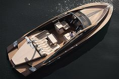 The Antagonist Yacht. This bespoke, 37ft cruiser is powered by dual, 370hp Yanmar diesel engines, which spin SS props for a top speed of 42 knots