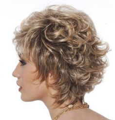 Short Layered Curly Hairstyles | Formal Short Curly Hairstyle ...