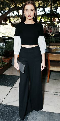 Look of the Day - March 15, 2014 - Zoey Deutch in Houghton from #InStyle