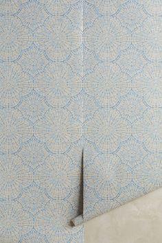 Slide View: 1: Lace Web Wallpaper