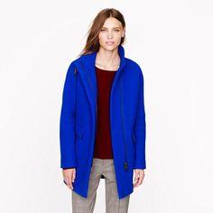 J.Crew coat -great color!
