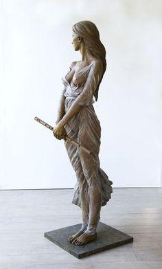 De Chinese artieste Luo Li Rong vult haar tijd met het beeldhouwen van levensgrote sculpturen. Rode draad doorheen haar werk is de adembenemende...