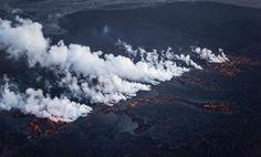 Decretan alerta máxima por erupción del volcán islandés Bardarbunga | Mundo | LA TERCERA