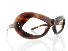 a5aa61c8fbf9fb Amazing rare vintage deadstock 1960 s tortoiseshell Space Age Atomic bubble  eskimo eyeglasses - FREE DOMESTIC SHIPPING