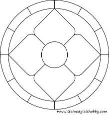 Resultado de imagen de stained glass pattern circle