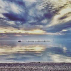 Kincardine Beach, Ontario on Lake Huron