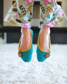 All About Ami - Crochet Slippers Part 1