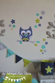 1000 ideas about stickers chambre b b garcon on pinterest - Sticker chambre bebe garcon ...
