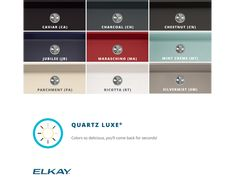 "Elkay Quartz Luxe 35-7/8"" x 19"" x 9"" Single Bowl Undermount Kitchen Sink with Perfect Drain Apron Sink Kitchen, Composite Sinks, Prep Sink, Bar Sink, Undermount Sink, Acrylic Resin, Bowl, Quartz, Ricotta"