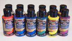 DecoArt Traditions - 3-oz Palette Sampler Kit - DATSK02