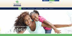 #sesamewebdesign #sds #dental #responsive #blue #green #serif