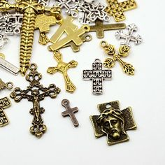Tibetan Style Pendants in UK warehouse for UK customers, much faster by local delivery. Letter Beads, Letter Charms, Diy Jewelry Supplies, Beading Supplies, Charm Jewelry, Jewelry Findings, Birthstone Charms, Silver Rhinestone, Sterling Silver Pendants