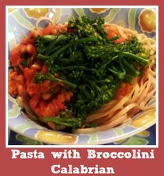 Pasta with Broccolin